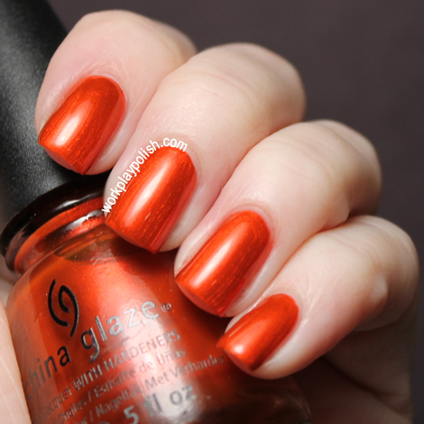 China Glaze Cirque Du Soleil Collection: Bend Over Backwards (work / play / polish)