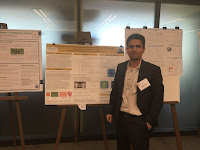 My poster with graduate student Kharananda Sharma, at the Mechanics in Morphogenesis Workshop, at Princeton University.