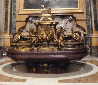closuep pia battesimale - Vaticano