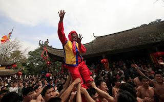 The Dong Ky firecracker festival 2