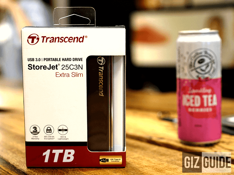 Transcend StoreJet 25C3N Review Philippines