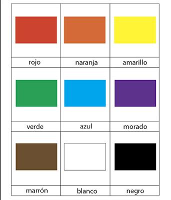 imprimible montessori colores