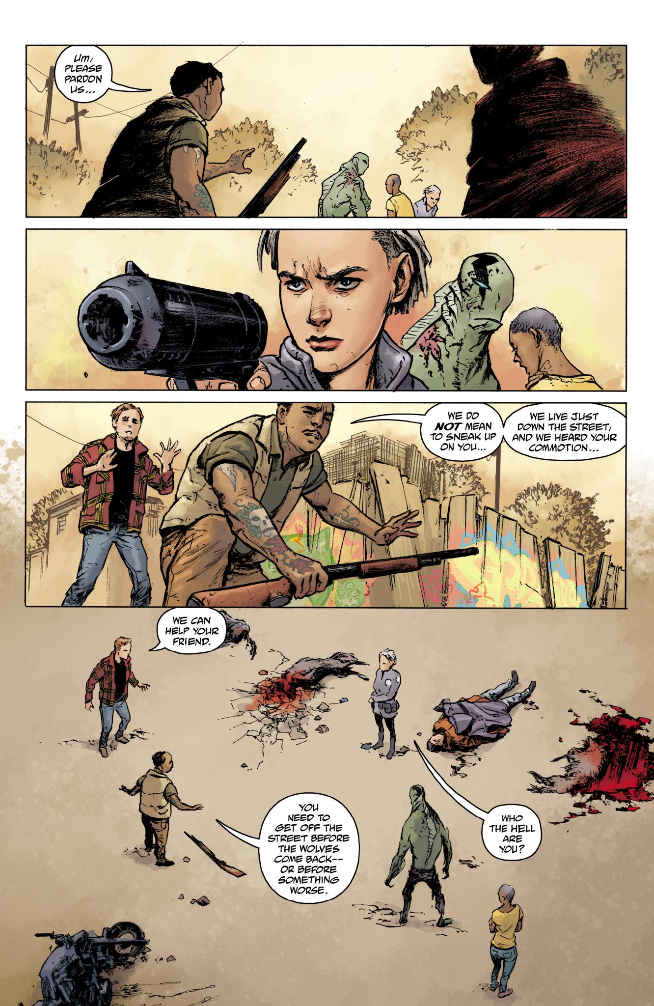 Read online Abe Sapien comic -  Issue #16 - 16