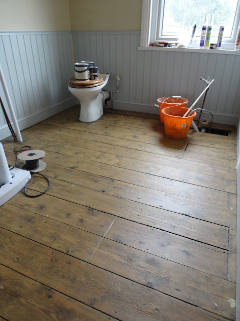 Bathroom Floorboards