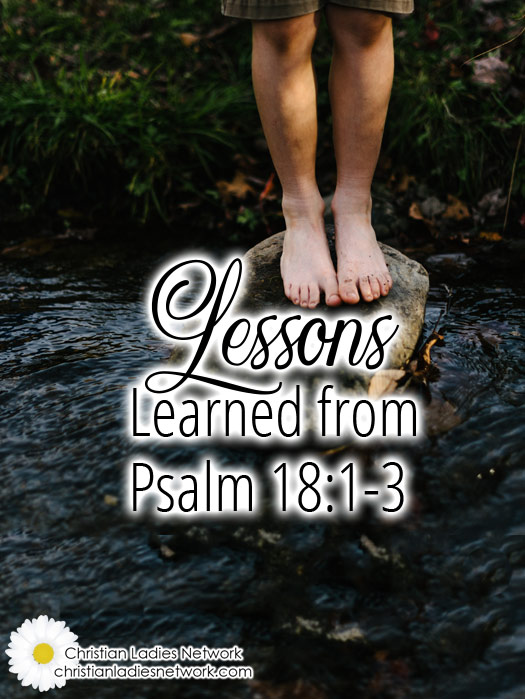 Lessons Learned from Psalm 18:1-3  : christianladiesnetwork.com