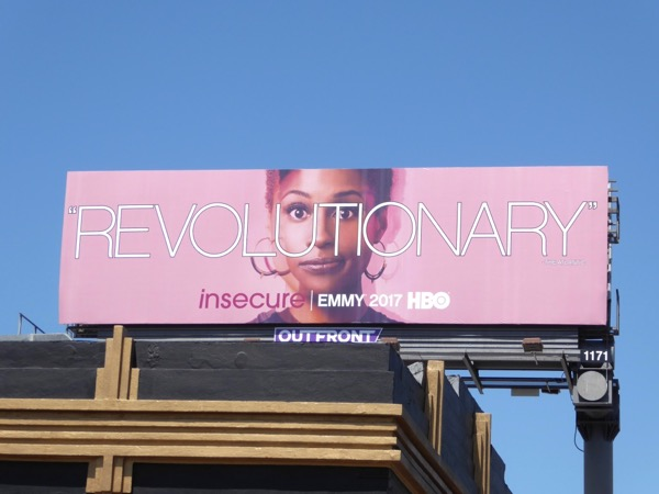 Insecure Revolutionary 2017 Emmy FYC billboard