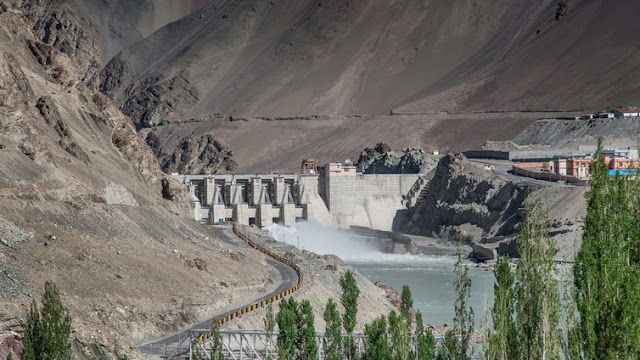 Image Attribute: The Nimoo Bazgo plant on India's section of the Indus was the cause of a legal dispute when it was completed in 2012. Wuttipong Potawin / shutterstock