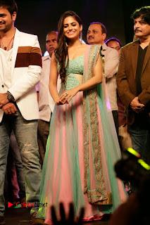 Actress Naina Ganguly Stills in Long Dress at Vangaveeti Audio Launch  0124.JPG