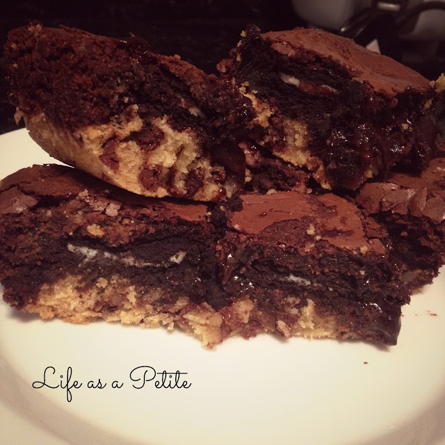 Oreo Slutty Brownies Betty Crocker Chocolate Chip Fudge Brownie Mix - lifeasapetite
