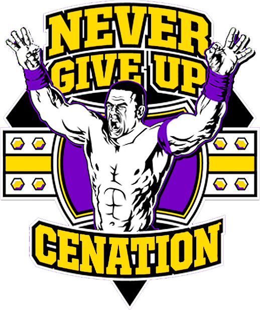 Buy Boys WWE John Cena T-Shirt | Kids | Character.com ...  |John Cena Logo Never Give Up 2014