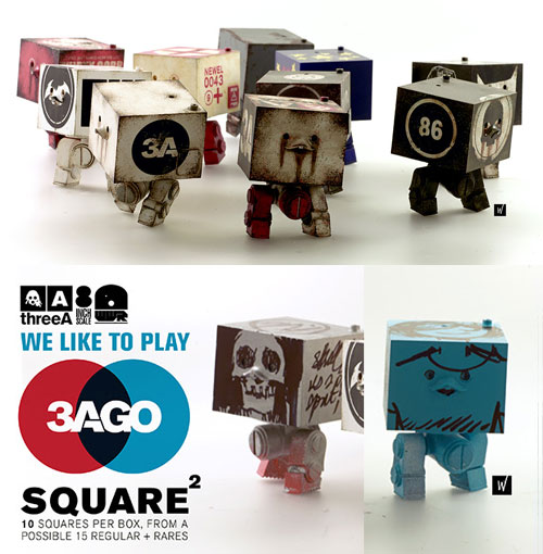 67921829193 3AGO SQUARE TEN PACK vol1 WWR in 3AGO currently available to purchase on  Bamblandstore.com - with a set of 10 priced at US 160 (Price Includes  worldwide ...
