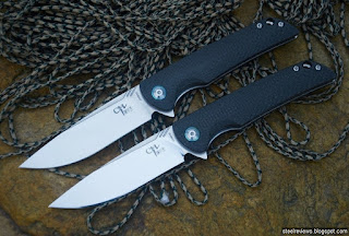 CH Knife CH3510 flippers with VG10 blade