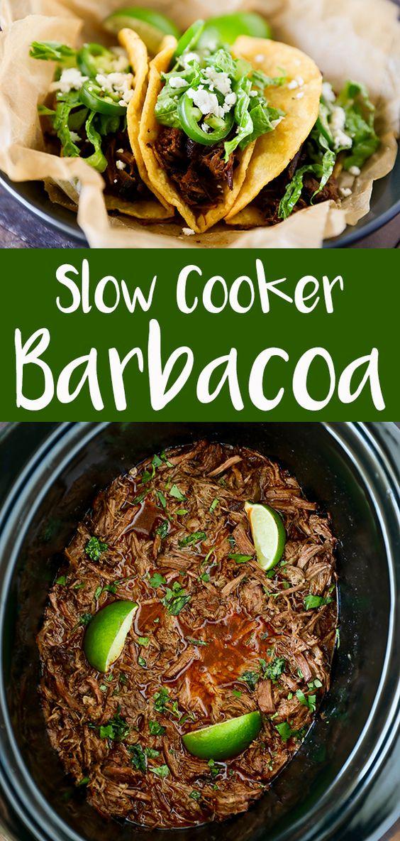 BEST SLOW COOKER BARBACOA RECIPES