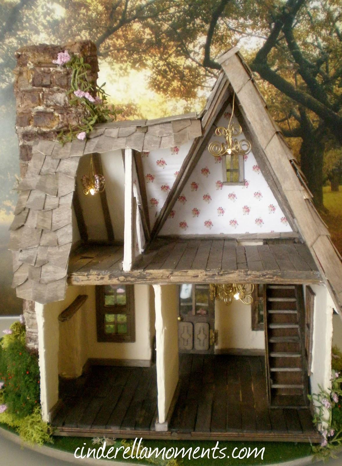 Dollhouse Miniature Garden Shed