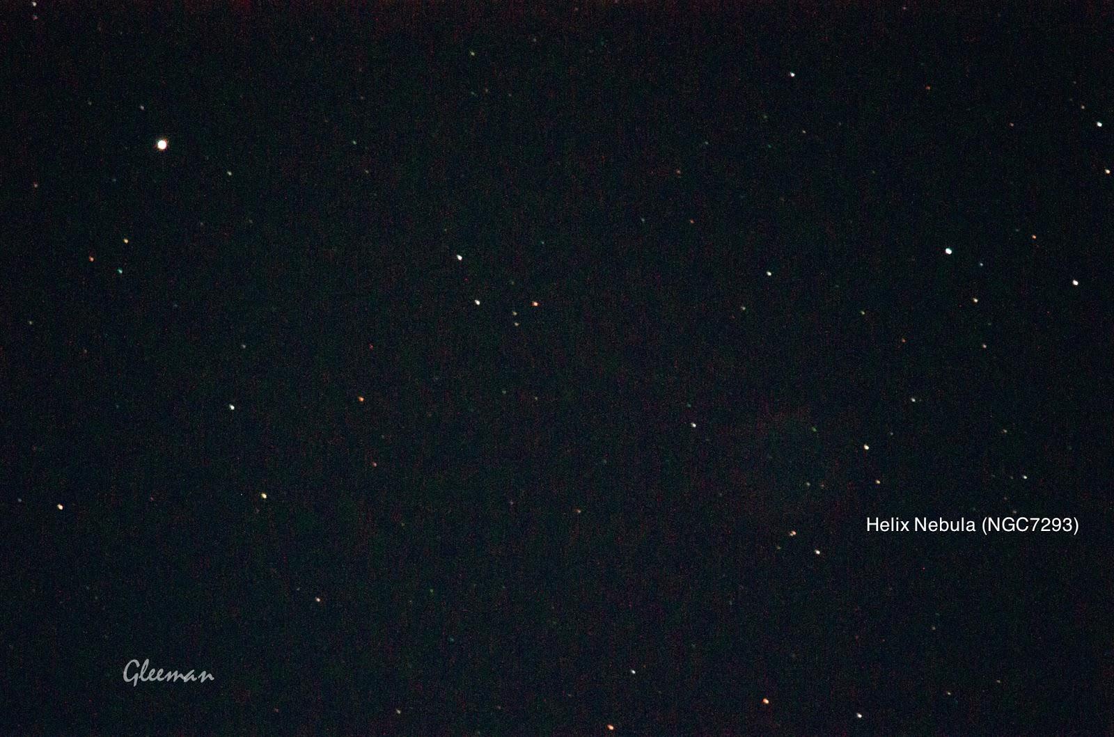 Helix Nebula/ Pentax Pentax 75SDHF + 1.4XL + K5 ,O-GPS1 Astrotracer