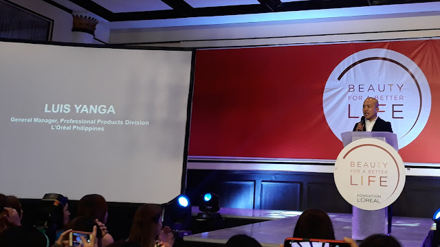 Luis Yanga, General Manager, Professional Products Division, L'Oreal Philippines