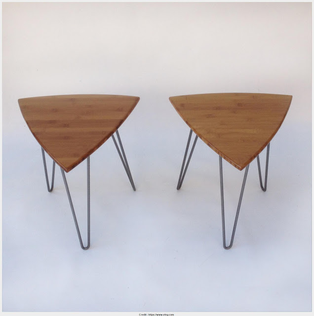 Must see Triangle Side Table Wall Picture