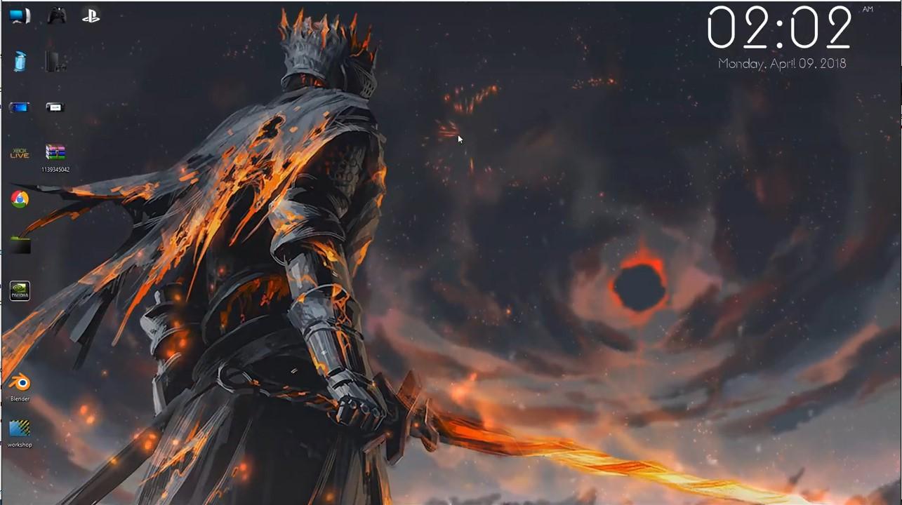 wallpaper engine Dark Souls 3 Interactive live wallpaper ...