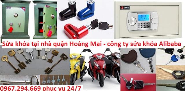 Thợ sửa khóa tại nhà quận Hoàng Mai Hà Nội