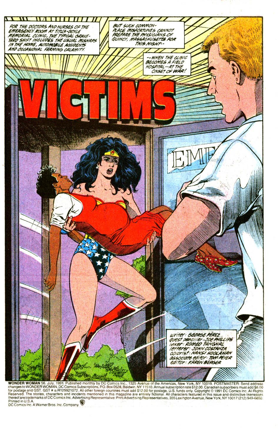 Read online Wonder Woman (1987) comic -  Issue #56 - 3