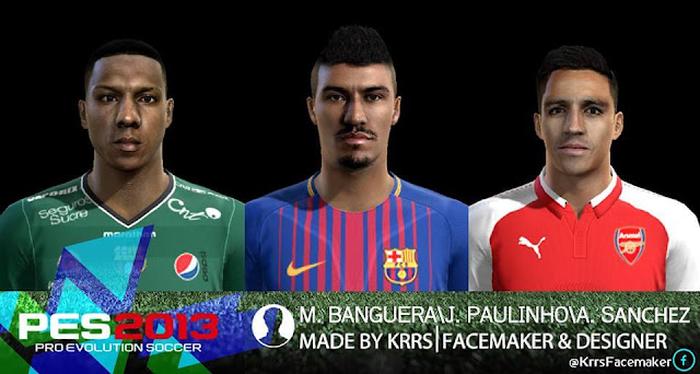 PES2013 FACEPACK VOL. 3 MADE BY KRRS