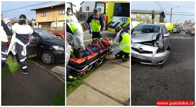 Accidente en Rahue