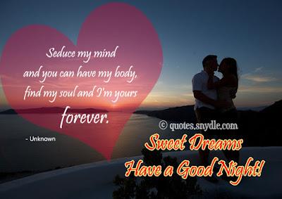 good night beautiful husband
