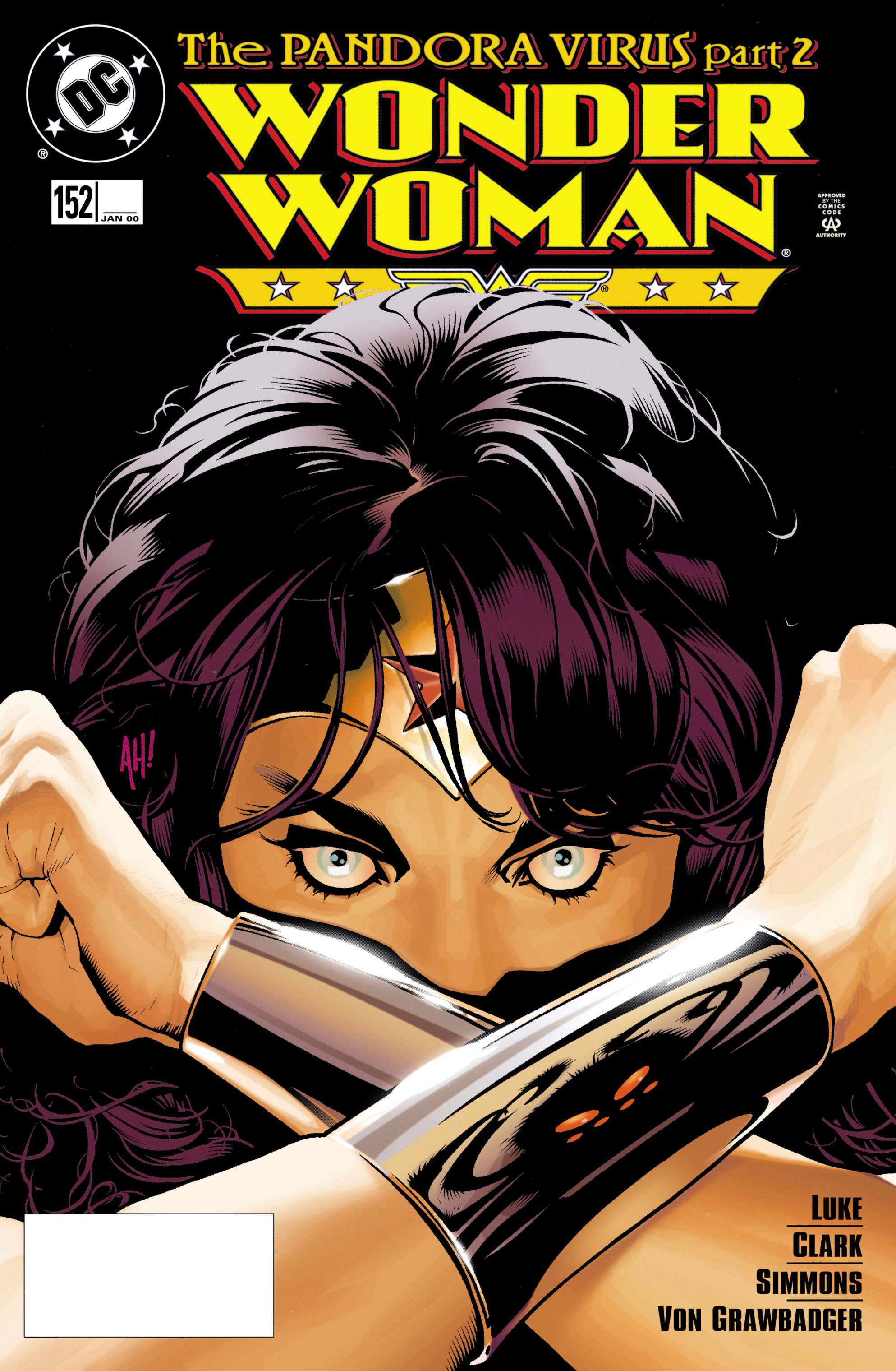 Read online Wonder Woman (1987) comic -  Issue #152 - 1