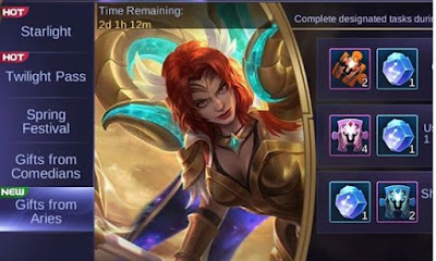 Hilda Zodiac Skin Aries Mobile Legends
