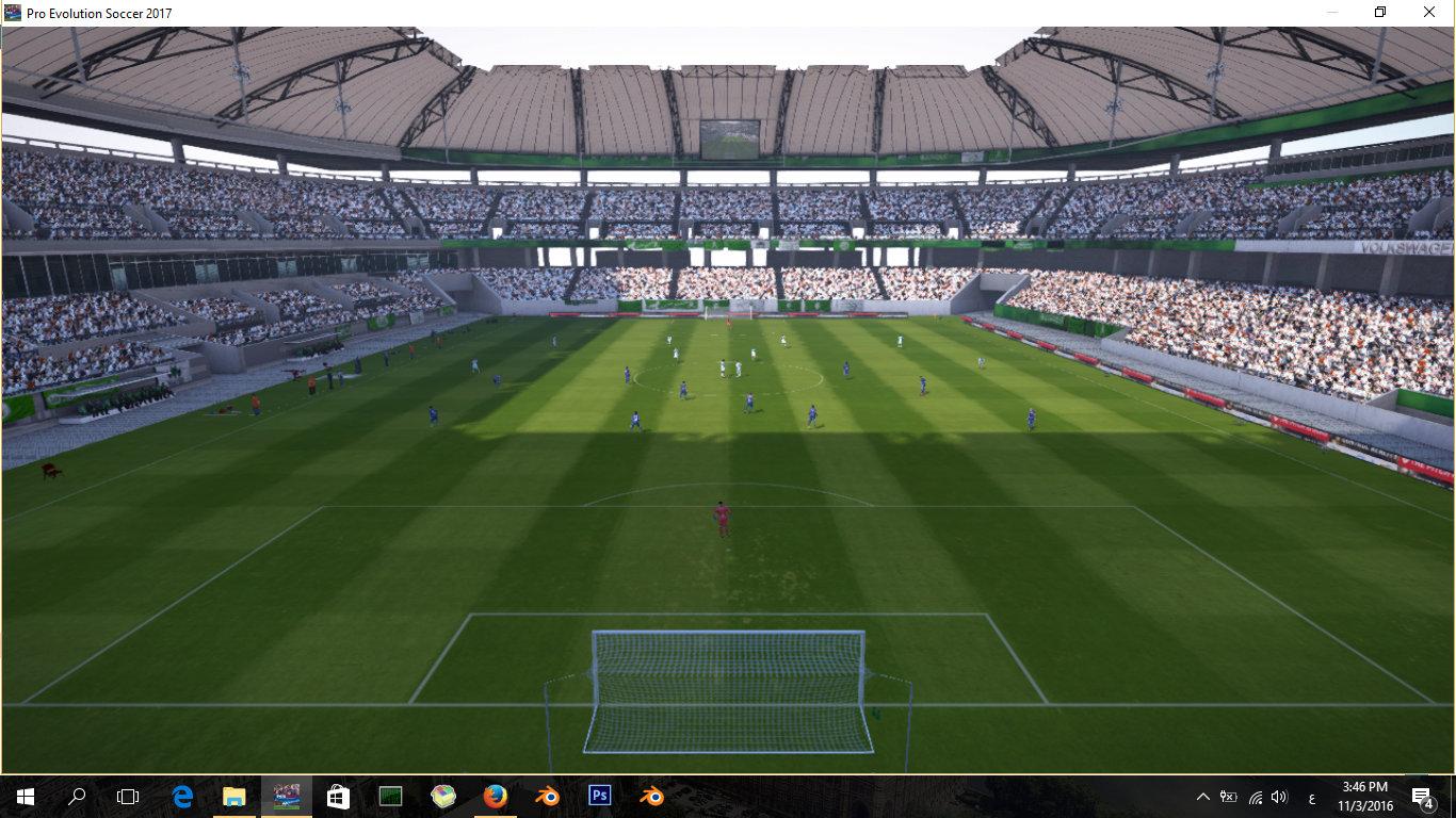 PES 2017 Redux Stadium Collection by S.Elafify [ Updated - Millenium Stadium ] ~ PESNewupdate ...