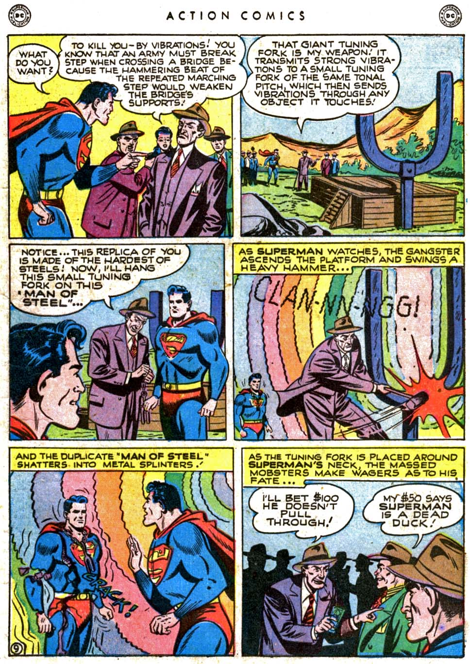 Read online Action Comics (1938) comic -  Issue #123 - 11