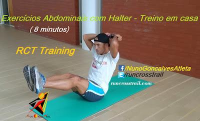 Como treinar os abdominais utilizando um halter - runcrosstrail