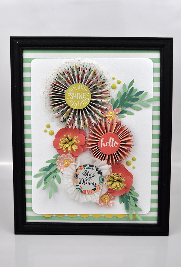 She's Got Dreams Frame by Jen Gallacher for www.echoparkpaper.com. #papercrafter #echoparkpaper