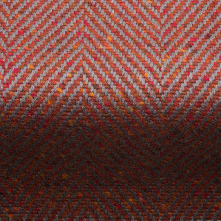 Penrith Herringbone Fabric Chilli