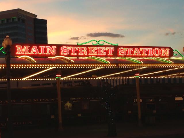 Main Street Station Las Vegas Neon Sign