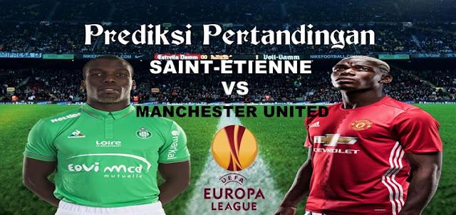 Prediksi Pertandingan Saint-Etienne vs Manchester United 23 Februari 2017