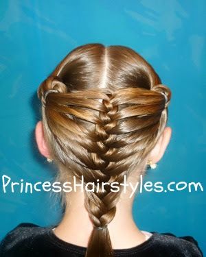 mermaid fin braid