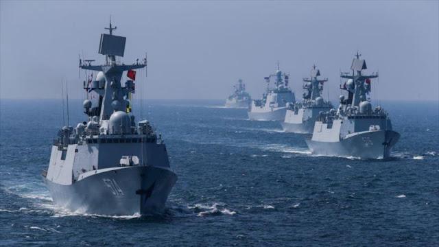 China traslada maniobras a península coreana para advertir a EEUU
