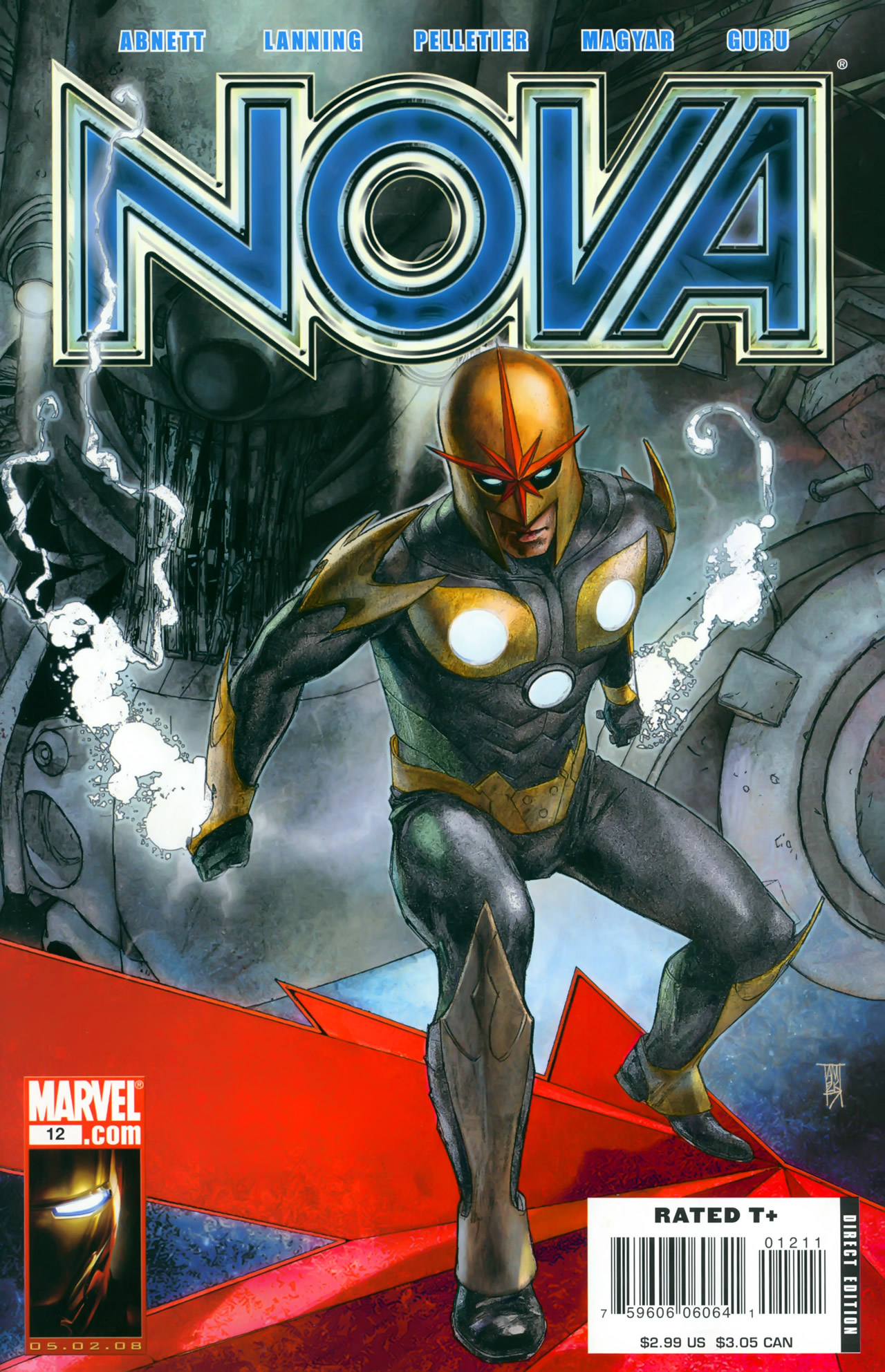 Nova (2007) issue 12 - Page 1