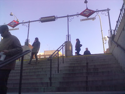 Horario de Metro de Madrid. Navidad 2011- 2012