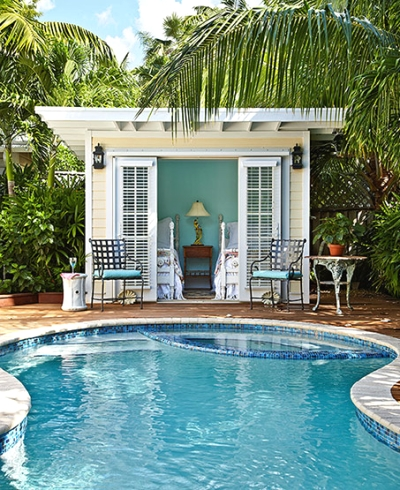 key west garden design - Key West Style Home Decor