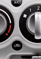 photo of car dashboard options for air flow