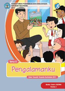 Buku Guru Tema 5 (Pengalamanku) Kelas 1 Kurikulum 2013 Revisi 2017