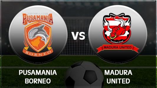 Prediksi Pusamania Borneo vs Madura United