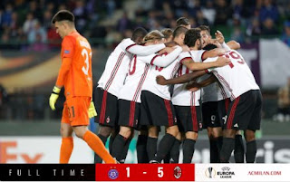 Austria Wien vs AC Milan 1-5 Video Gol & Highlights