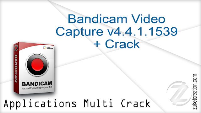 Bandicam Video Capture v4.4.1.1539+ Crack    |  18.4 MB
