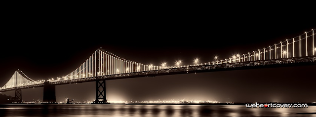 Bay Bridge San Francisco Facebook Cover - Weheartcovers.com