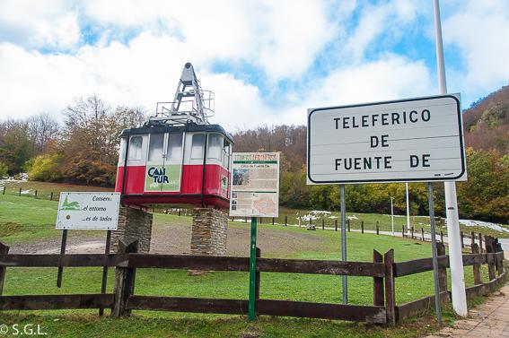Teleferico de Fuente De. 10 ideas para conocer España estas vacaciones