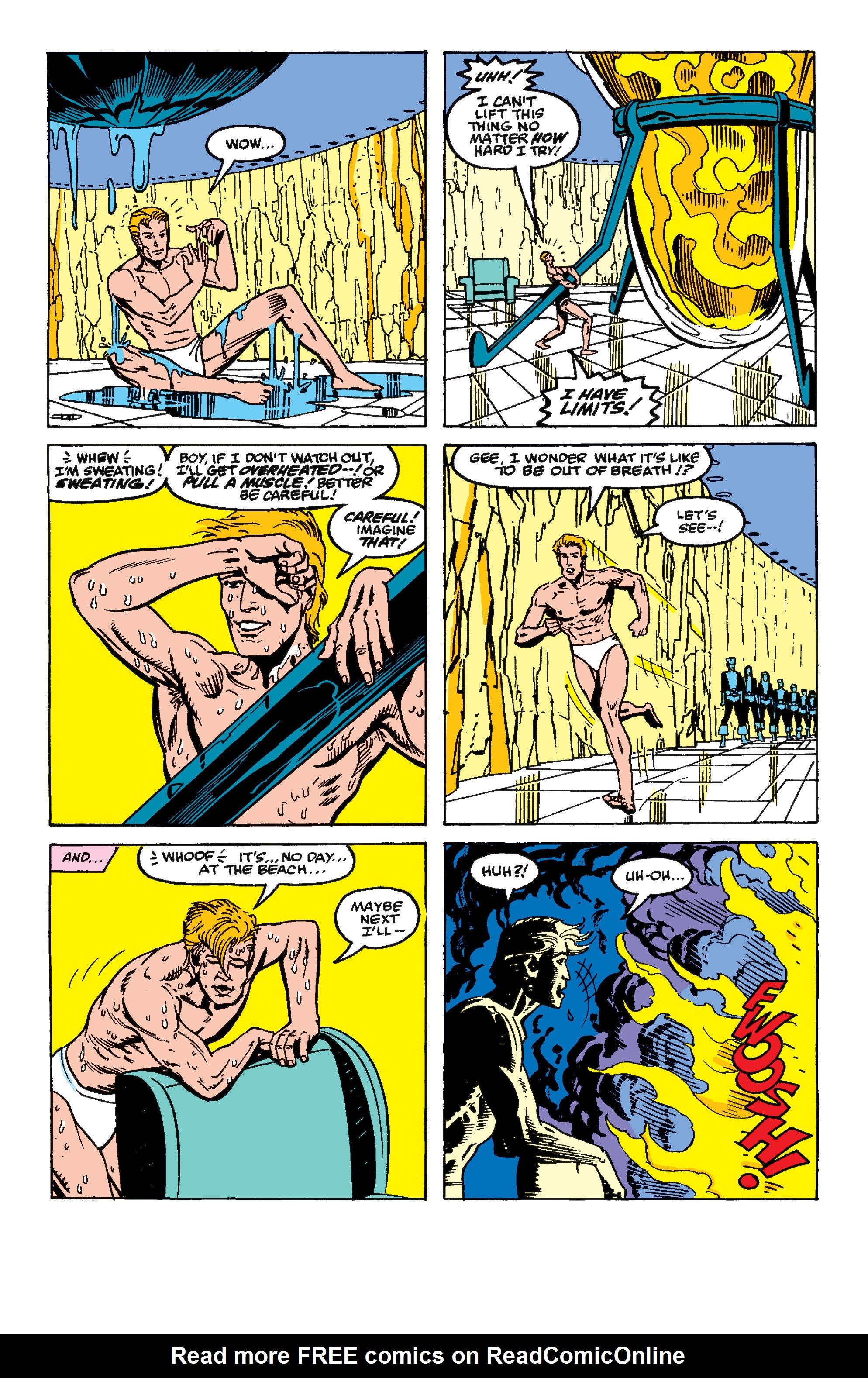 Read online Secret Wars II comic -  Issue #9 - 17