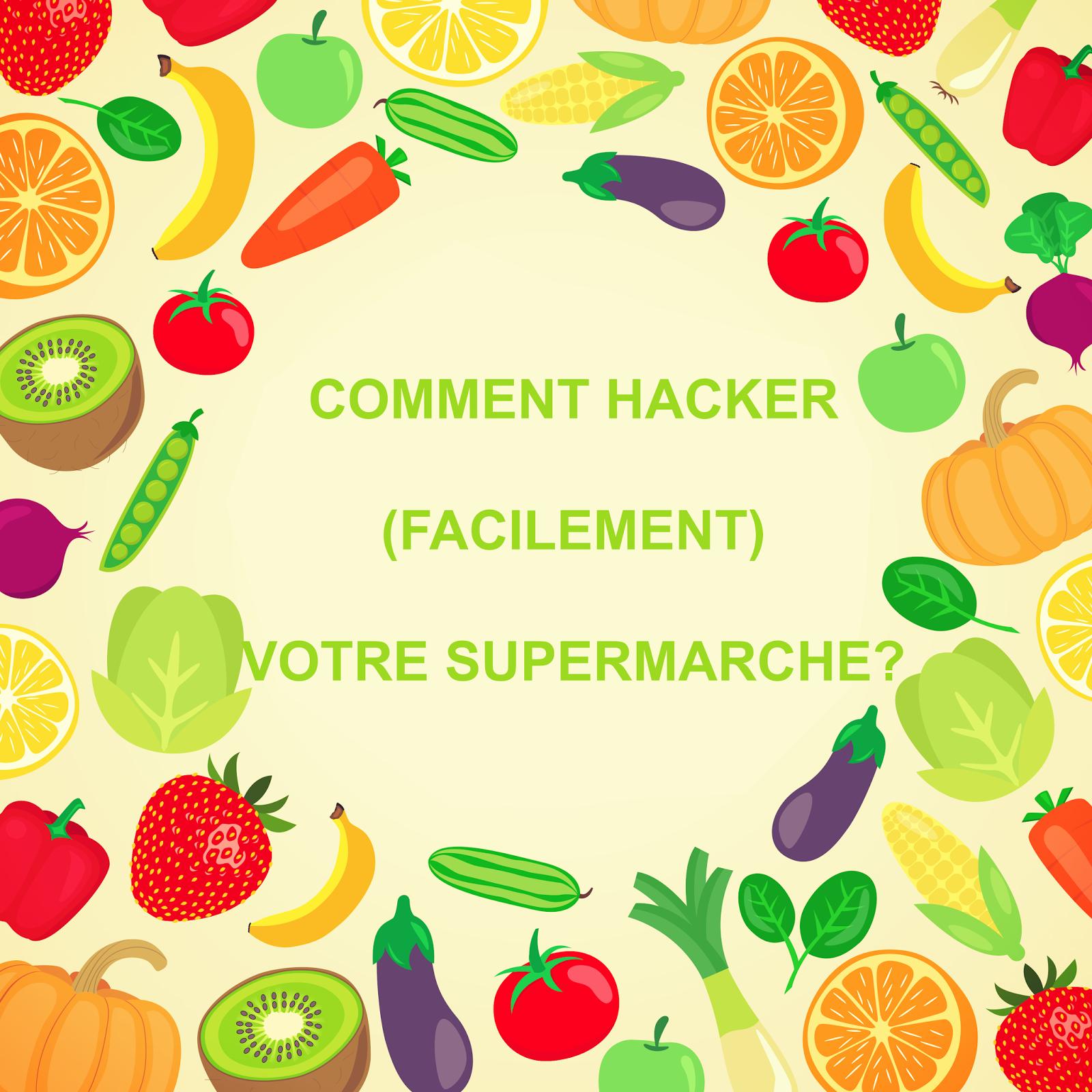 Carotte Bleue se rapportant à comment hacker votre supermarché ?! | planète bleue, vibrations vertes